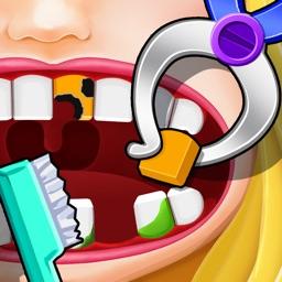 Princess Dentist : makeover games!