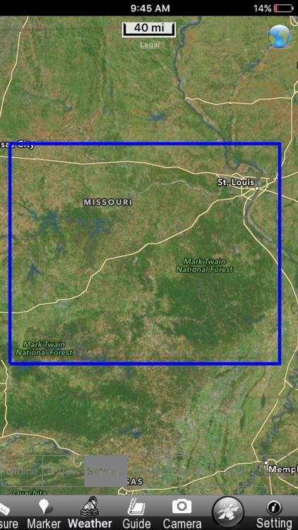 Mark Twain National Forest - GPS Map Navigator screenshot-4