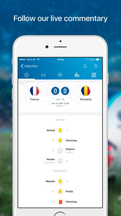 Euro Live — Scores & News for 2016 European Soccer Championship screenshot-3