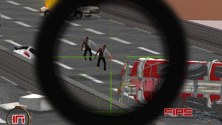 A Zombie Sniper - Highway War Free screenshot-3
