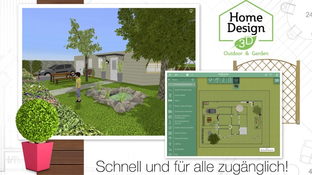 Home Design 3d Outdoorgarden Im App Store
