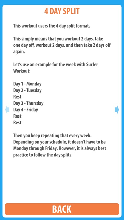 Surfer Workout - Use this surfing workout to to gain the surfer muscles necessary to get a good surf workout screenshot-3
