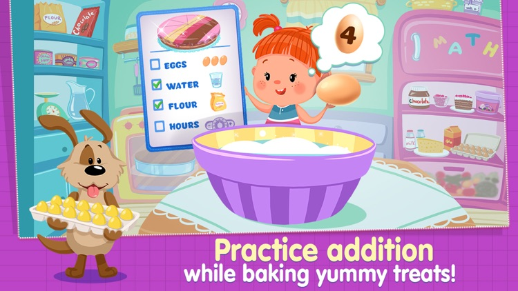 Izzie's Math - Fun Games for Kids 5-8