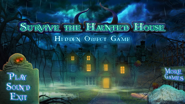 Hidden Object Games Survive the Haunted House screenshot-4