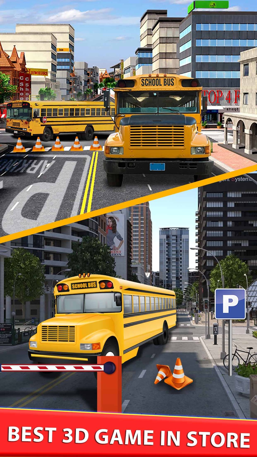 High School Bus Parking & Driving Test - 2K16 Extreme simulator 3d Edition hack tool