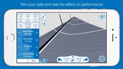 North U Sailing Trim Simulator - Virtual, Sailor, Wind, Navigation, Regatta screenshot two