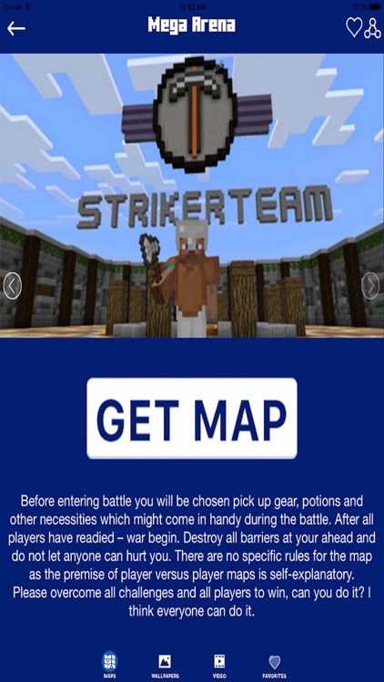 MAPS for MINECRAFT PE ( Pocket Edition ) - Download PVP Map
