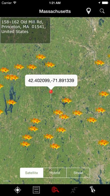 Massachusetts: Lakes and Fishes screenshot-3