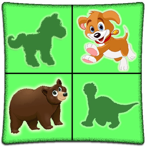Animals match fun game for Preschool, Toddler kids & Adults