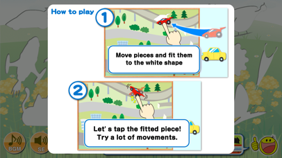 Moving Jigsaw Puzzle【Free educational app for Toddlers and