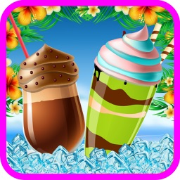 Ice Cream Shake Maker - Make frozen & slushy dessert in this chef mania game for kids