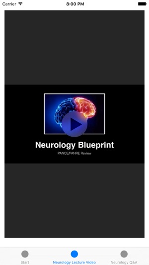 Neurology blueprint pance panre review course on the app store malvernweather Images