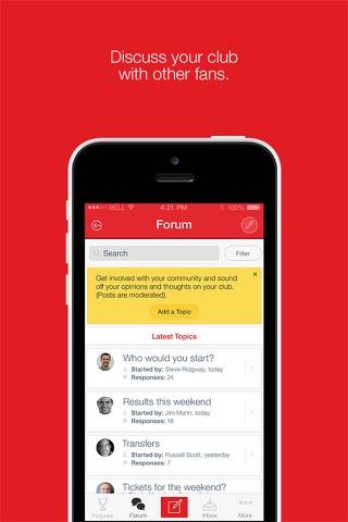 Fan App for Gloucester Rugby - náhled