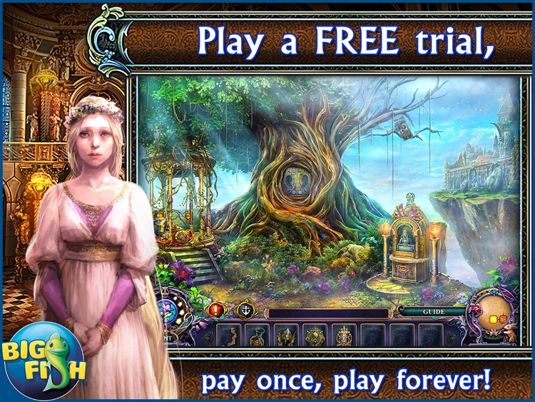 Dark Parables: Ballad of Rapunzel HD - A Hidden Object Fairy Tale Adventure screenshot-0
