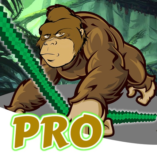 Gorilla Monster Rope PRO - Jump and Fly in Solitaire Master Adventure