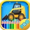 Tractor Coloring Book - Trucks & Construction Vehicles Coloring Book