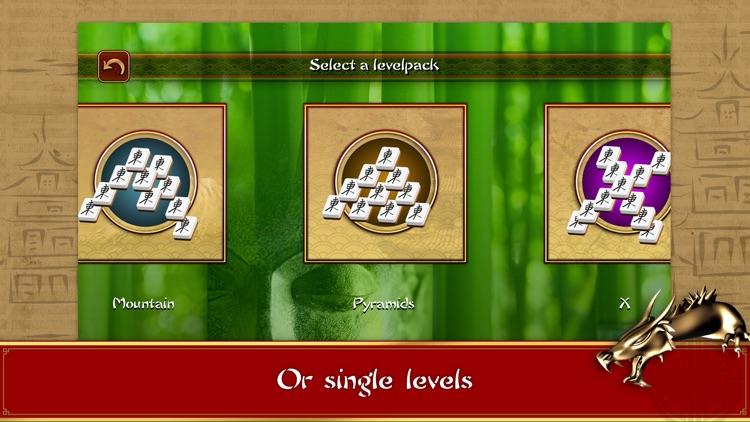 3D Mahjong Mountain FREE screenshot-4
