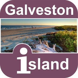 Galveston Island Offline Map Tourism Guide