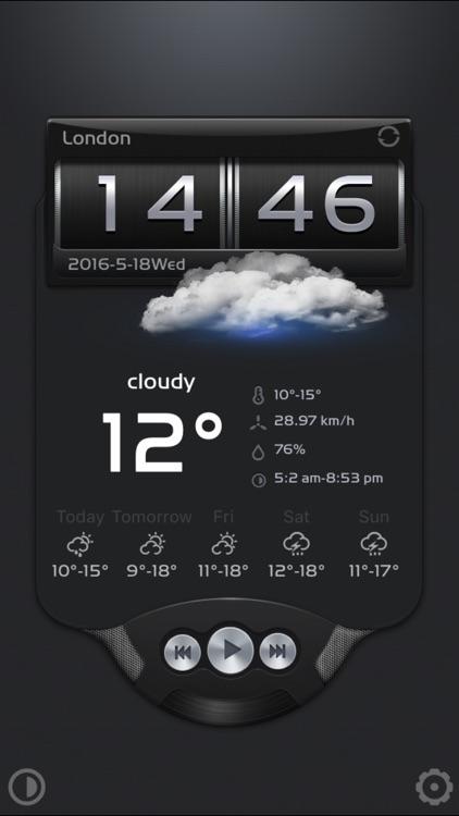 B&W weather+