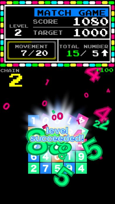 Number Break - popular free match 3 puzzle - screenshot one