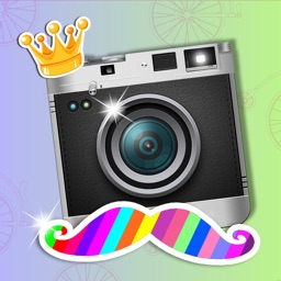 Hipster Photo Editor - Change Your Face With Funny Sticker.s & Crazy Camera Effect