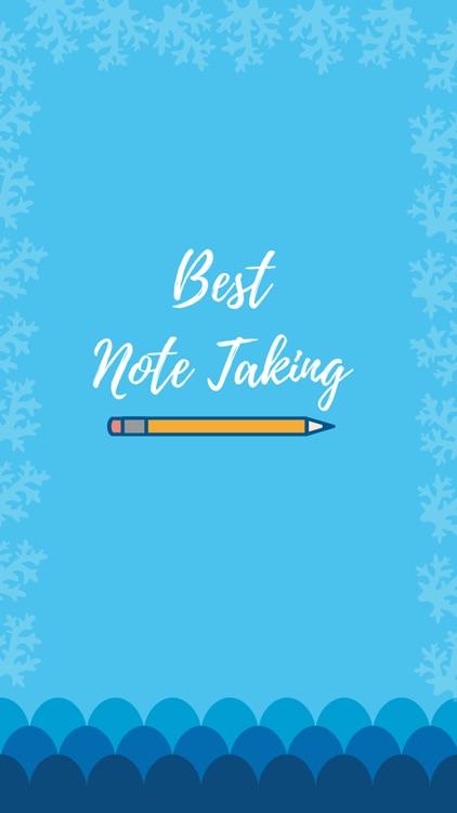 Best Note Taking