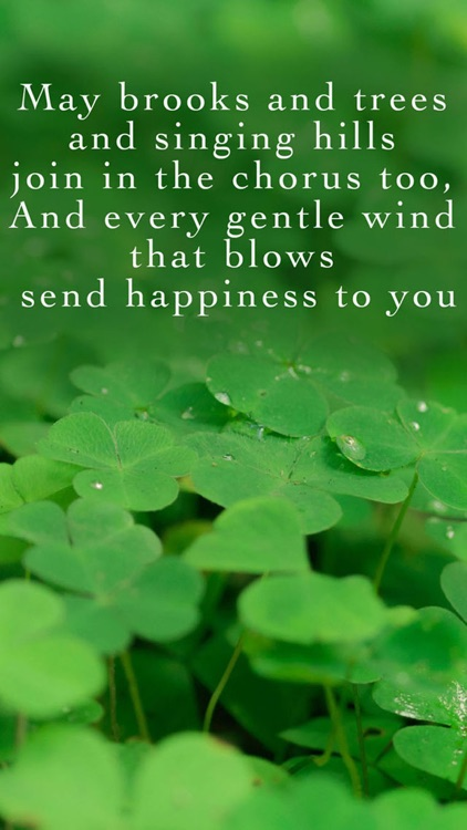 Irish Blessings and Greetings - Image Sayings, Wallpapers & Picture Quotes screenshot-4