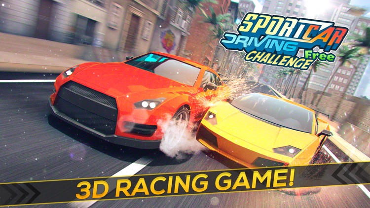 Sport Car Driving Challenge 3D | Top Super Cars Racing Game For Free screenshot-0