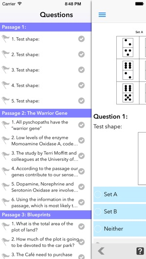 Practice UKCAT Questions on the App Store