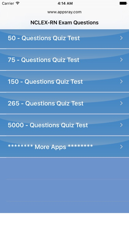 NCLEX-RN Exam Questions Unlimited