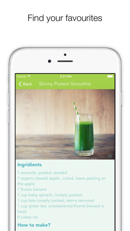 Protein Smoothies PRO - smoothies & shakes for healthy living screenshot-4