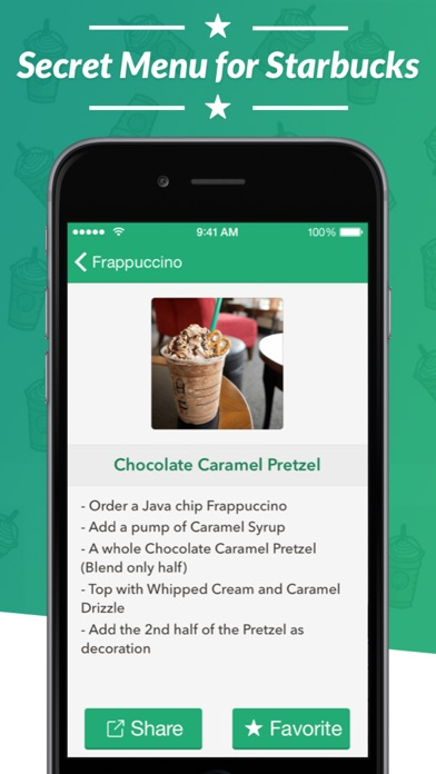 Baixar Secret Menu for Starbucks - Coffee, Frappuccino, Tea, Cold, and Hot Drink Recipes para Android