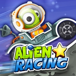 Alien Star Racing : Climb Up Hills!