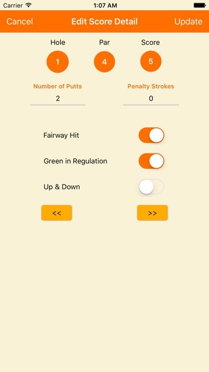 Pro Scorecard screenshot-3