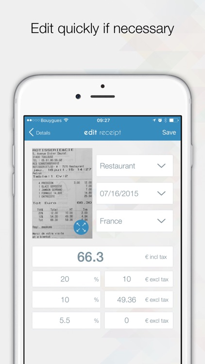 ONexpense - Expense report screenshot-3