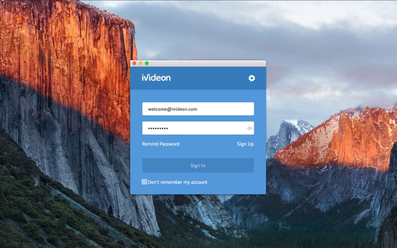Ivideon Client for Mac