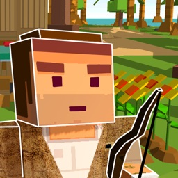 Pixel Island Survival Simulator 3D Full