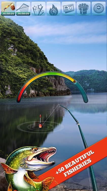 Let's Fish: Sport Fishing Games. Bass Simulator