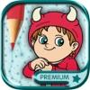 连接点用魔法标记涂色儿童画画书(3-6岁宝宝早教益智软件) - 高级版