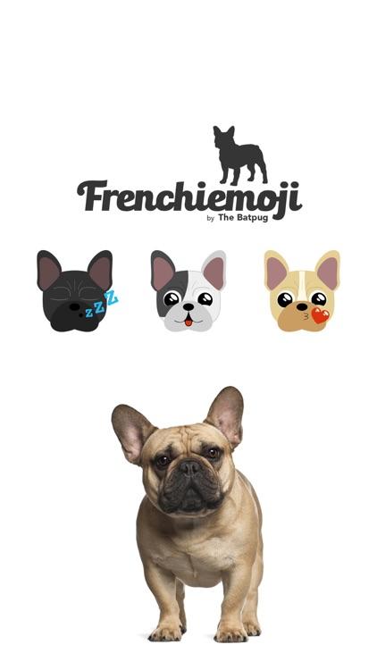 Frenchiemoji Sticker Keyboard by the Batpug