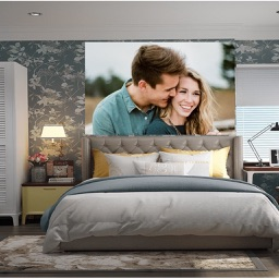 Bedroom Photo Frames - Instant Frame Maker & Photo Editor