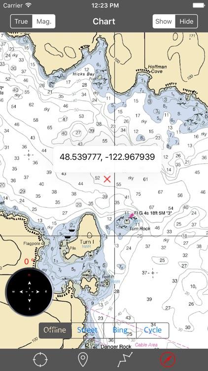San Juan Islands (Washington) – Raster Nautical Charts