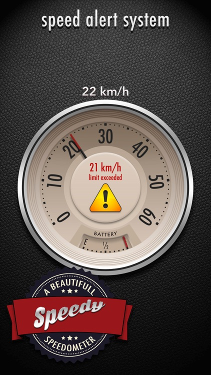 Speedy - a beautiful speedometer screenshot-2