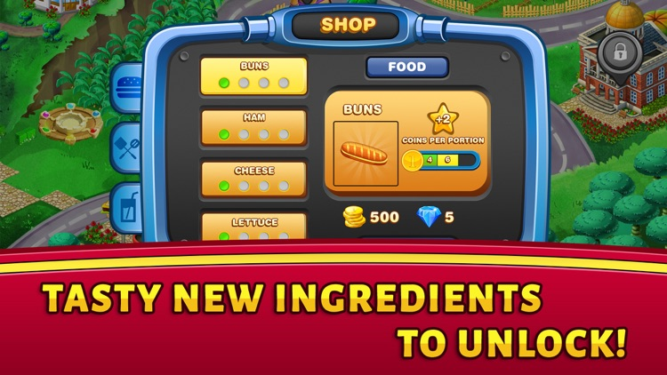 Food Court Hamburger Fever 2: Burger Cooking Chef screenshot-4