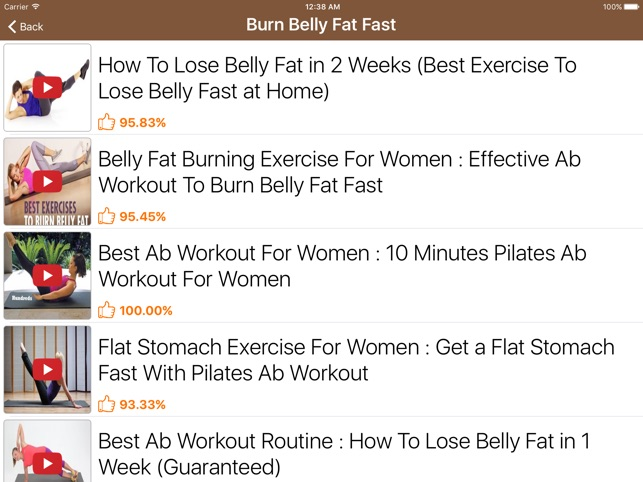 How To Lose Belly Fat Im App Store