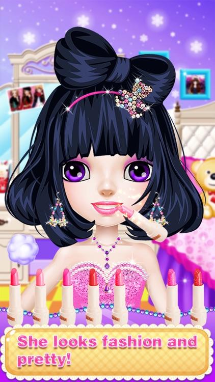 Princess Fashion Salon - Girl Makeup Game screenshot-4