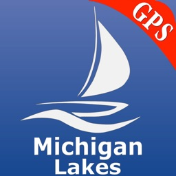 Michigan Lakes GPS Nautical charts