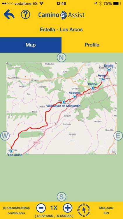 Camino Assist pilgrim Santiago