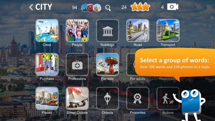 CITY Vocaboo English for kids