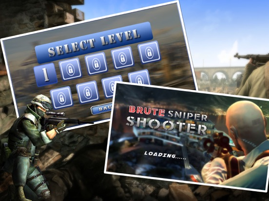 Brute Sniper Shooter-ipad-1